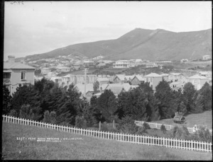 Mount Victoria from the Basin Reserve, Wellington