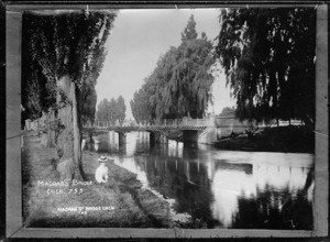 Madras Street Bridge across the Avon River, Christchurch