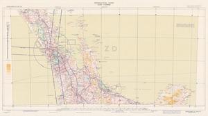 Aeronautical chart ICAO 1:500000. Auckland SE 38/173¹/2