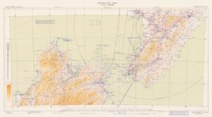 Aeronautical chart ICAO 1:500000. Cook Strait SE 42/171¹/2.