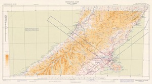 Aeronautical chart ICAO 1:500000. Christchurch SE 44/168¹/2.
