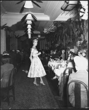 Fashion show, James Smith's department store, Wellington
