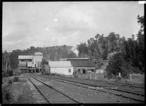 Coal processing buildings at Seddonville, West Coast