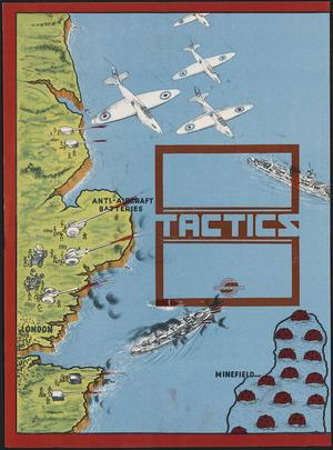Poster for war game - Tactics
