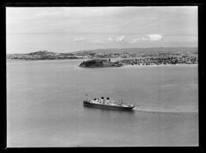 Union Steam Ship Monowai, Auckland