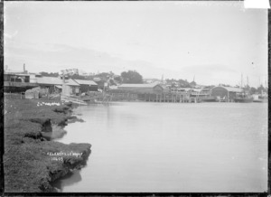 The wharf at Helensville