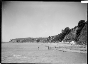 View of Orakei Beach, Auckland