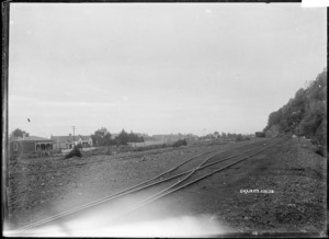 View of the railway sidings at Granity