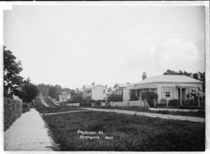 View of Princess Street, Northcote, Auckland