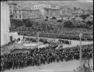 ANZAC Day Commemorations, Wellington, 1939