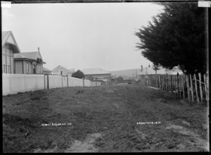 Nero Street, Raglan, 1910 - Photograph taken by Gilmour Brothers