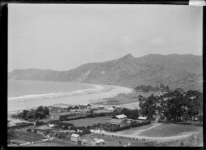 General view of Tokomaru Bay looking south