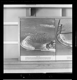 Auckland Harbour Bridge, photograph used in the Changing Auckland Exhibition