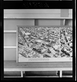 Civic Centre, Auckland, photograph used in the Changing Auckland Exhibition