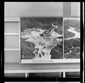Hunua Dam, Auckland Region, photograph used in the Changing Auckland Exhibition