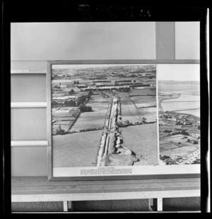 Drainage in Mangere, Auckland, photograph used in the Changing Auckland Exhibition