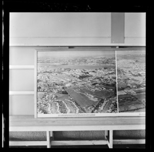 Mount Roskill, Auckland, photograph used in the Changing Auckland Exhibition
