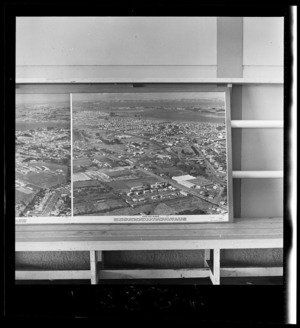 Panmure and Mount Wellington, Auckland, photograph used in the Changing Auckland Exhibition