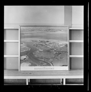 Mangere Airport, Auckland, photograph used in the Changing Auckland Exhibition