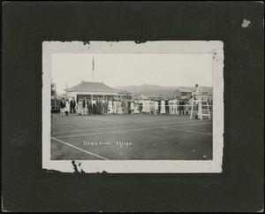 Tennis court, Raglan