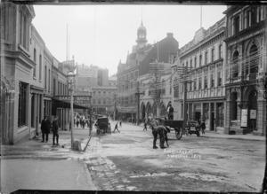 Shortland Street looking west towards Queen Street