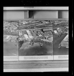 Jellicoe Wharf, Ports of Auckland, photograph used in the Changing Auckland Exhibition