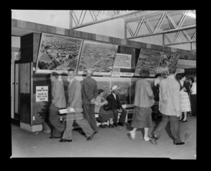 Aerial photograph exhibition at the Easter Show, Epsom, Auckland