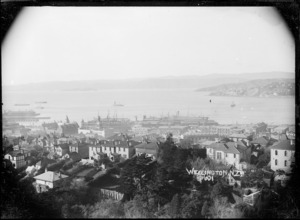 View of Wellington taken from Kelburn looking east