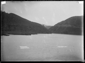 Waingaro Bay, Raglan Harbour, 1910 - Photograph taken by Gilmour Brothers