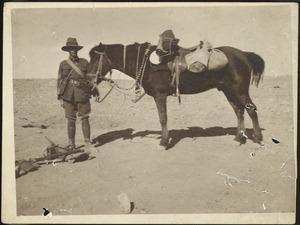 Martin Ashton Eccles and his horse Billy