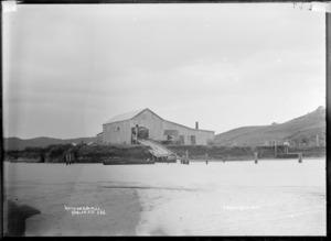 Watkins Sawmill, Raglan, circa 1910 - Photograph taken by Gilmour Brothers