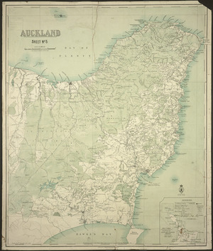 Auckland. Sheet no. 5 [cartographic material] / drawn by W. Deverell.