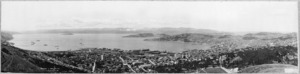 Panorama of Wellington from Wireless Station, Tinakori Hill