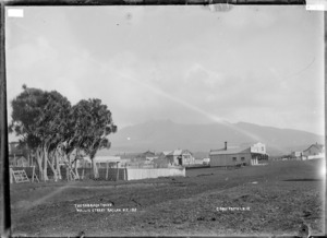 Wallis Street, Raglan, 1910 - Photograph taken by Gilmour Brothers