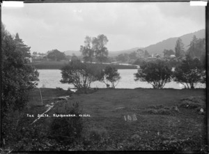 The Delta, junction of the Waipa River and the Waikato River at Ngaruawahia, circa 1910