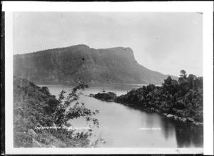 View of Lake Waikaremoana - Photograph taken by William Augustus Neale