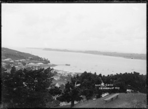 View looking from Devonport Domain towards North Head and Torpedo Bay