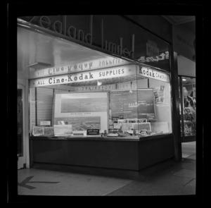 Kodak New Zealand Ltd, window display