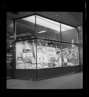 Whitcombe & Tombs, window display