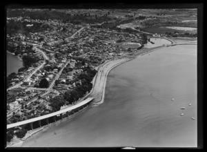 Northcote approach, Auckland Harbour Bridge