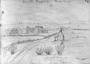 [Crawford, James Coutts] 1817-1889 :Daniell's Rangitikei. - Te ara taumai. [1862]