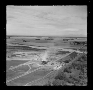 Lime works, Rangitata River Bridge, Canterbury Region