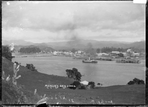 General view of Whitianga, Mercury Bay, Coromandel Peninsula