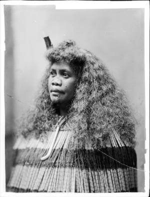 Mutu Brandon (Ngamoenga) - Photograph taken by William Henry Thomas Partington