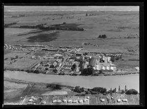 Whakatane board mills, Whakatane District, Bay of Plenty Region