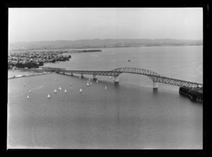 Auckland Harbour Bridge, Waitemata Harbour, Auckland Region