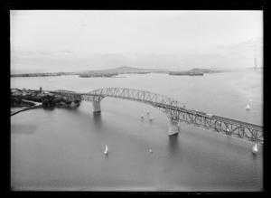 Auckland Harbour Bridge, Waitemata Harbour, Auckland Region