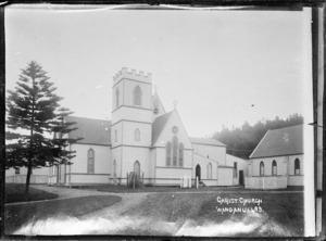 View of the second Christ Church at Wanganui