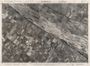 Barrhill / this mosaic compiled by N.Z. Aerial Mapping Ltd. for Lands and Survey Dept., N.Z.