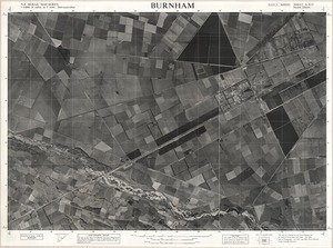 Burnham / this map was compiled by N.Z. Aerial Mapping Ltd. for Lands & Survey Dept., N.Z.